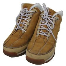 TIMBERLAND Wheat Nubuck 86951 Boots SHOES $8.50SH BOYS EUC Juniors 5.5 M Trail