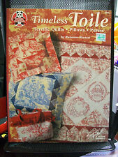 TIMELESS TOILE TERRIFIC QUILTS DESIGN ORIGINALS SEWING PATTERNS QUILTING MCNEILL