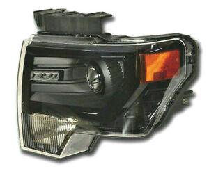 NEW OEM FORD F150 2009-2014 LH DRIVER SIDE BLACK HID HEADLIGHT DL3Z13008FB