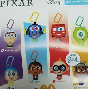 2020 McDONALD'S Disney Pixar Celebration 20th HAPPY MEAL TOYS Choose Toy or Set