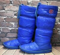 Womens Rocketdog Blue Pull On Flat Heel Knee High Boots UK 7 EUR 41