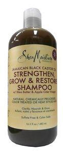 Shea Moisture Jamaican Black Castor Oil  Shampoo 384ml VERSAND KOSTENLOS