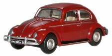 BNIB OO GAUGE OXFORD 1:76 76VWB002 VW BEETLE RUBY RED CAR