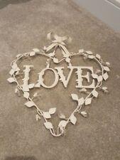 Heart-shaped wall ornament