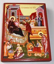 Geburt der Jungfrau Maria Madonna Hl.Anna Ikone Icon Ikona Ikonen orthodox Icoon