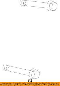 Ram CHRYSLER OEM 14-17 ProMaster 1500 3.0L-L4-Starter Bolt 6107001AA