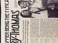 m9-9m ephemera 1970/s film article terry thomas happier