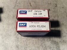2-SKF ,Bearing #6006 ZJEM,30 day warranty, free shipping lower 48!