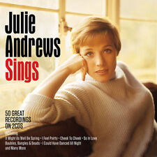 Julie Andrews SINGS Best Of 50 Essential Songs MUSIC New Sealed 2 CD