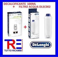 DECALCIFICANTE 100ML 5513295981+FILTRO  5513292811 MACCHINA CAFFE' DE LONGHI