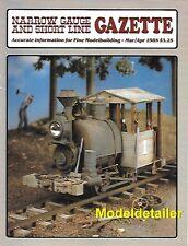 Narrow Gauge Gazette Mar.85 V&T Red Mountain Colorado RGS Nuremberg ET&WNC C&S