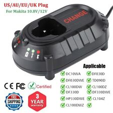 Fast Battery Charger for Makita BL1013 BL1014 10.8V 12V DC10WA DC10WB 10.8V/12V