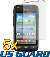 5x Samsung Galaxy Rugby Pro SGH-i547 Clear LCD Screen Protector Guard Cover Film