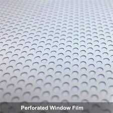 White One Way Vision Window Film Car Glass tint Print Media Film office window