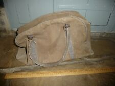 WW2 era Canvas Flightbag /  WW2 holdall / kit bag with Lightning zipper - worn