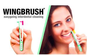 Wingbrush Interdental Brush with ISO 0 XS Refills KICKSTARTER Teeth Flosser Rare