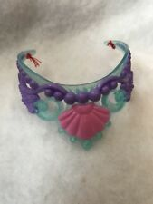 "Disney Little Mermaid Areal 14""  Toddler Doll Tiara Head Band  Replacement"