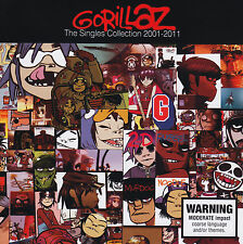 GORILLAZ - The Singles Collection 2001-2011 (Best Of) - CD - NEU/OVP