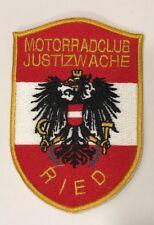 Aufnäher JUSTIZWACHE Motorradclub RIED