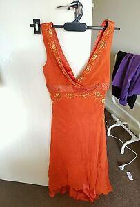 Orange Indian style dress