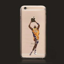 NBA stars Kobe transparent plastic plastic case for Iphone7 Plus