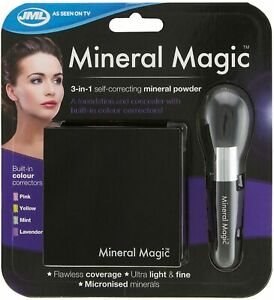 JML Mineral Magic 3-in-1 Make-up Self correcting Mineral Powder. Brand New