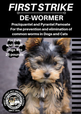 Small Dog and Cat broad spectrum dewormer 3 uses