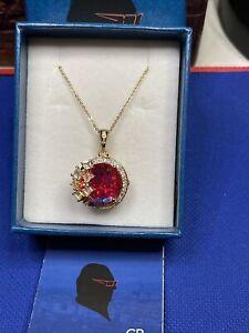 """GP Happy hour collection 14kYGP/ 925 Volcanic quartz multi gem necklace 20"""""""
