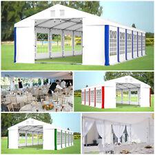 PARTYZELT 4x6 - 6x12 Pavillon BIERZELT Sommer Zelt PVC Festzelt Garten