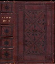 POETICAL AND PROSE WORKS OF ROBERT BURNS -  Romance Poetry - Circa Late 1800's