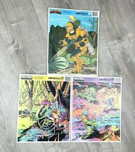 Vtg 1980s Frame Tray Puzzle Masters of the Universe He-man Centurions Lot of 3