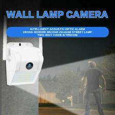 Wireless WiFi Outdoor CCTV Camera 1080P Wall Light Waterproof Home Security