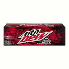 RARE!!! 12 pk Mtn Dew Code Red *FAST FREE SHIPPING*