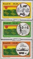 Brasilien 1807-1809 (kompl.Ausg.) postfrisch 1981 Landwirtschaftliche Entwicklun