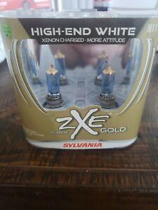 Sylvania Silverstar ZXE Gold H11 2 Halogen Lamps High End White