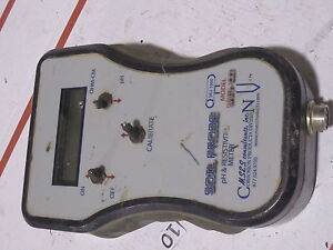 Digital Soil pH & Resistivity Tester SRM-100 Subsurface MSES (METER ONLY)