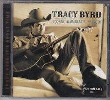 Tracy Byrd : It's About Time. (PROMO?) CD Album.