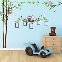 Premium Wandtattoo Wandaufkleber  Wandsticker Zoo Tiere Kinder Baby Kinderzimmer