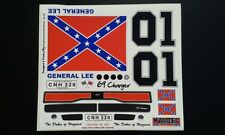 Dodge Charger Dukes of Hazzard body Decal Set 1:10