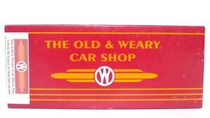 Old Weary Car Shop O Laser Wood Crossing Shanty Train Structure Kit SO-101 RARE