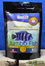 NorthFin Jumbo Fish - 6mm Pellet 250g - Premium Fish Food - Made in Canada
