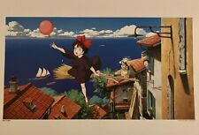 Studio Ghibli Kiki's Delivery Service 1998 Calendar Art Print Lithograph NM