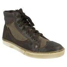 442c0bb79d7 Canvas Lace Up Boots for Men | eBay