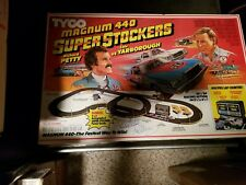 Tyco Superstockers Slot Car Set