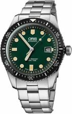 Brand New Authentic Oris Divers Sixty-Five Green Dial 73377204057MB on Sale