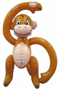 Inflatable Monkey Blow-up Kid's Party 58CM Animal Jungle Fun Fancy Dress Play