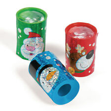 24 Holly Jolly Christmas Holiday Prisms Kaleidoscopes BIRTHDAY Party Favors