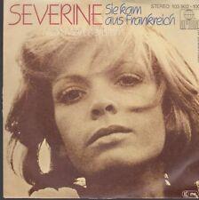 """Single 7"""" Vinyl-Schallplatten aus Frankreich (kein Sampler)"""