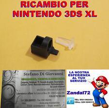 CERNIERA + LED TRASPARENTE RICAMBIO NINTENDO 3DS XL CILINDRO 3DSXL FERMA PERNO