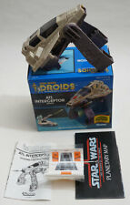 Vintage Star Wars Boxed Droids Vehicle ATL Interceptor boxed mint complete
